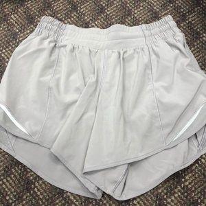 Women's Grey Lululemon Shorts
